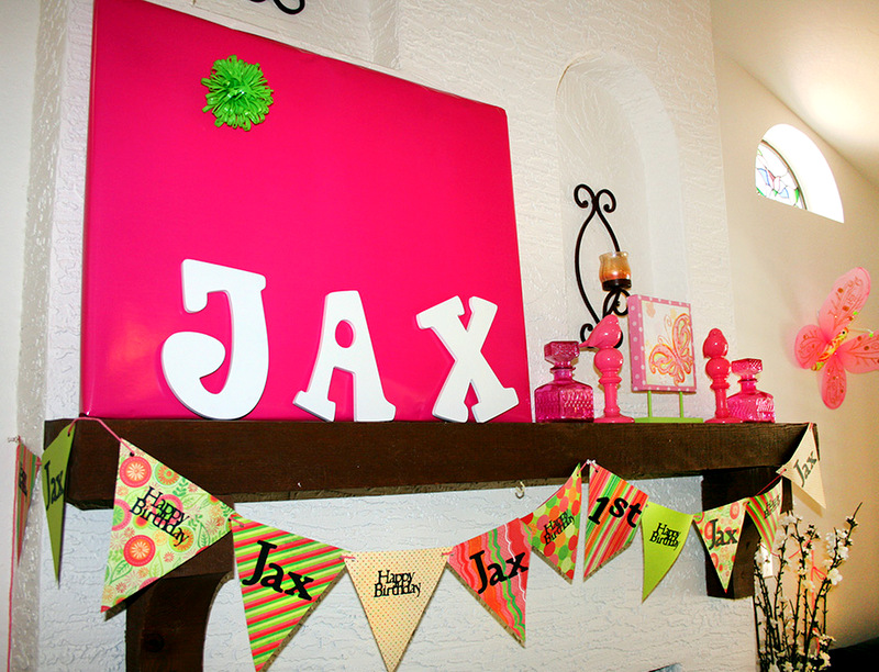 1st Birthday Party: Jax's Pink & Green Candyland | To ...